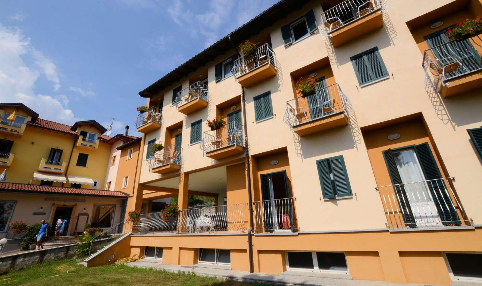 Nabobygningen, hvor værelserne med søudsigt fra siden ligger