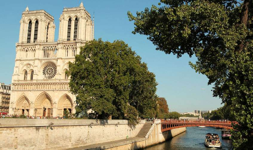 Nôtre-Dame på Île de la Cité