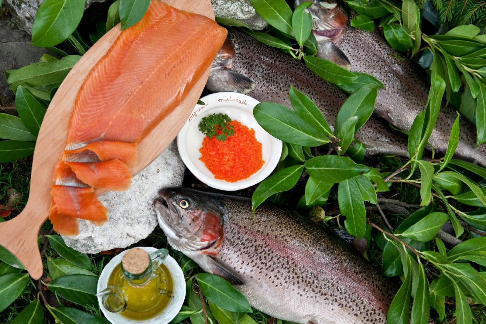 Du får god, frisk fisk i Friuli