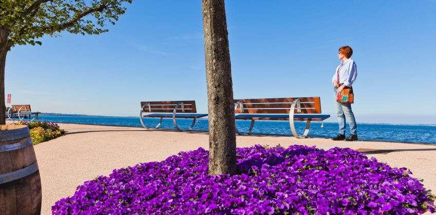 Die Seepromenade in Bardolino
