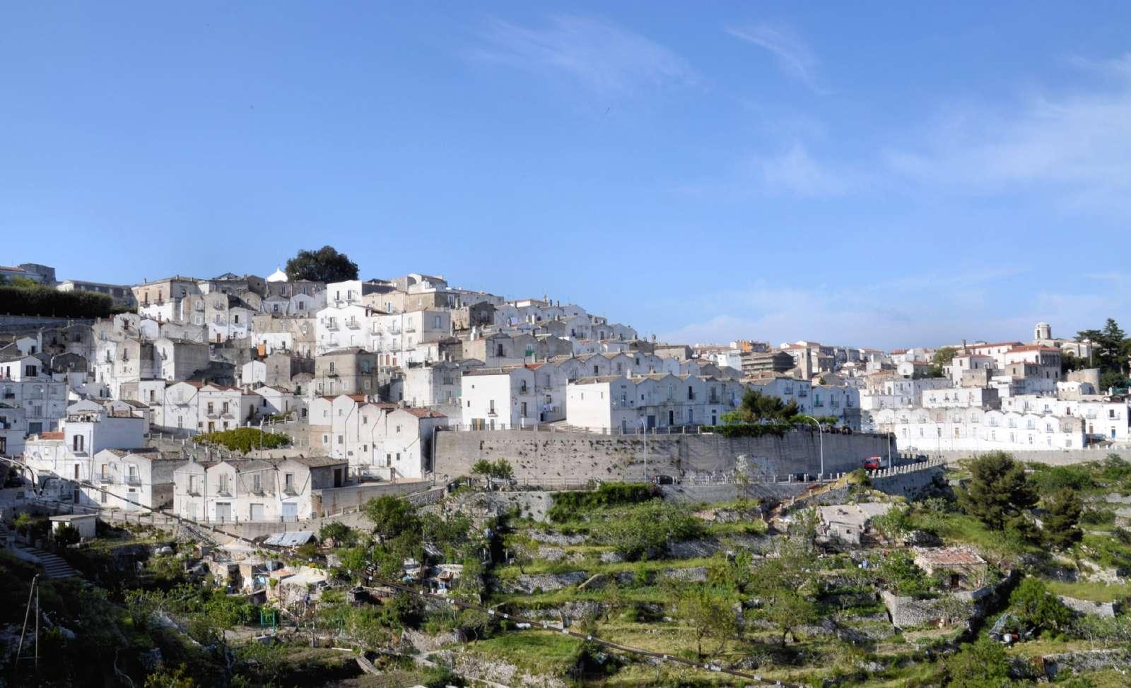 Bergstaden Monte Sant'Angelo