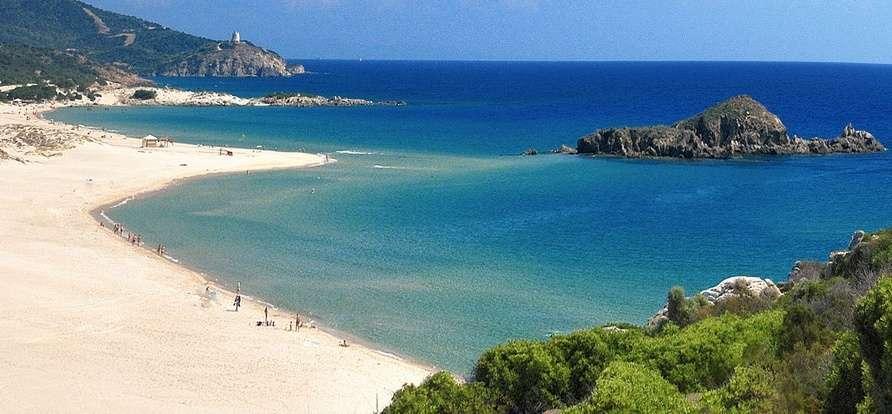 Sardiniens stränder kan lätt förväxlas med paradiset