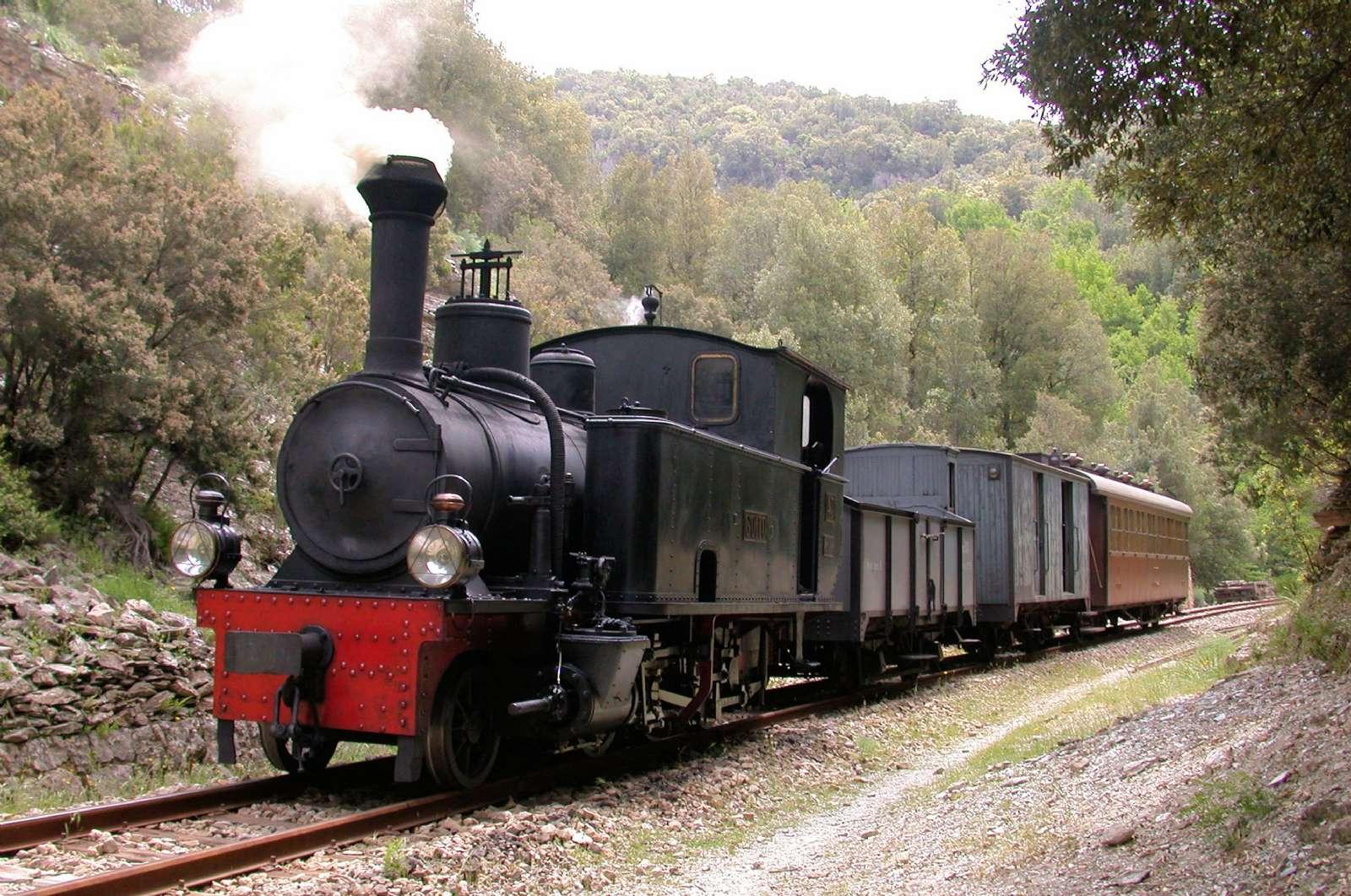 Der Nostalgie-Zug - der Trenino Verde, der in Arbatax endet