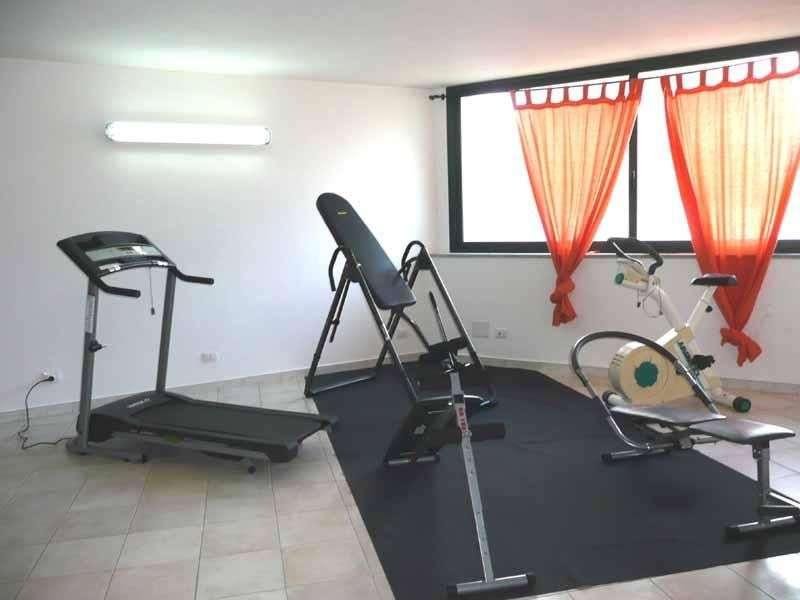 Kleiner Fitnessraum