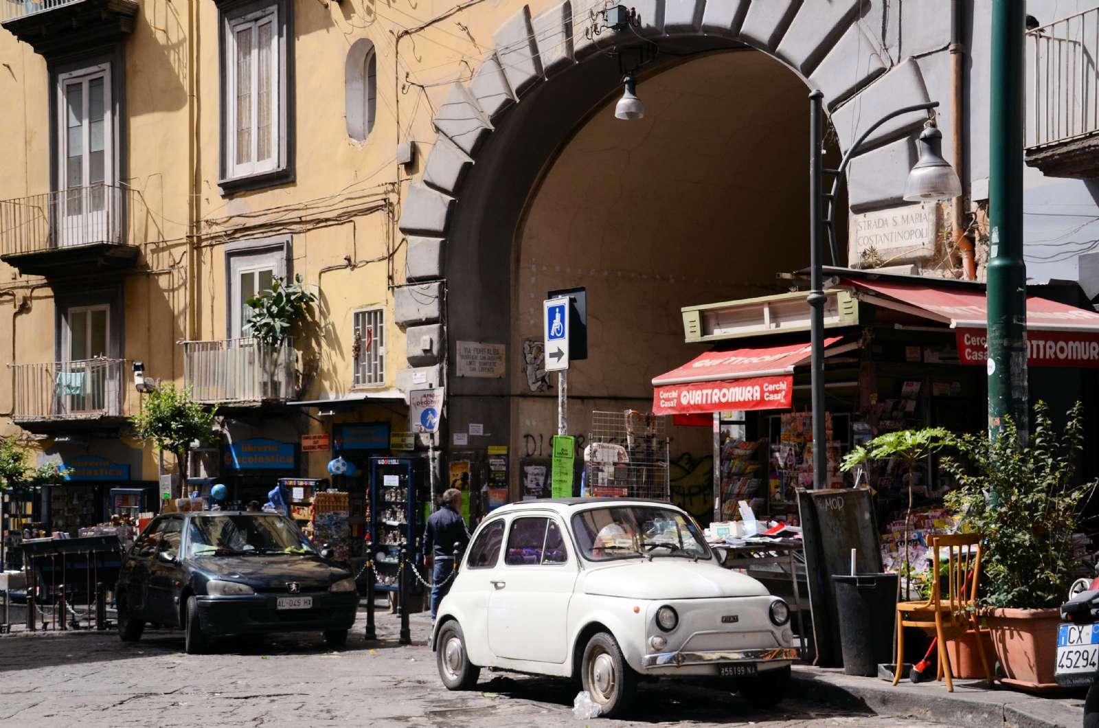 Stämningsbild från Neapel