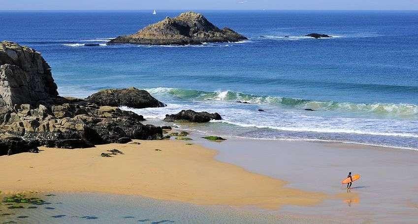 Stranden ved Porto Bara