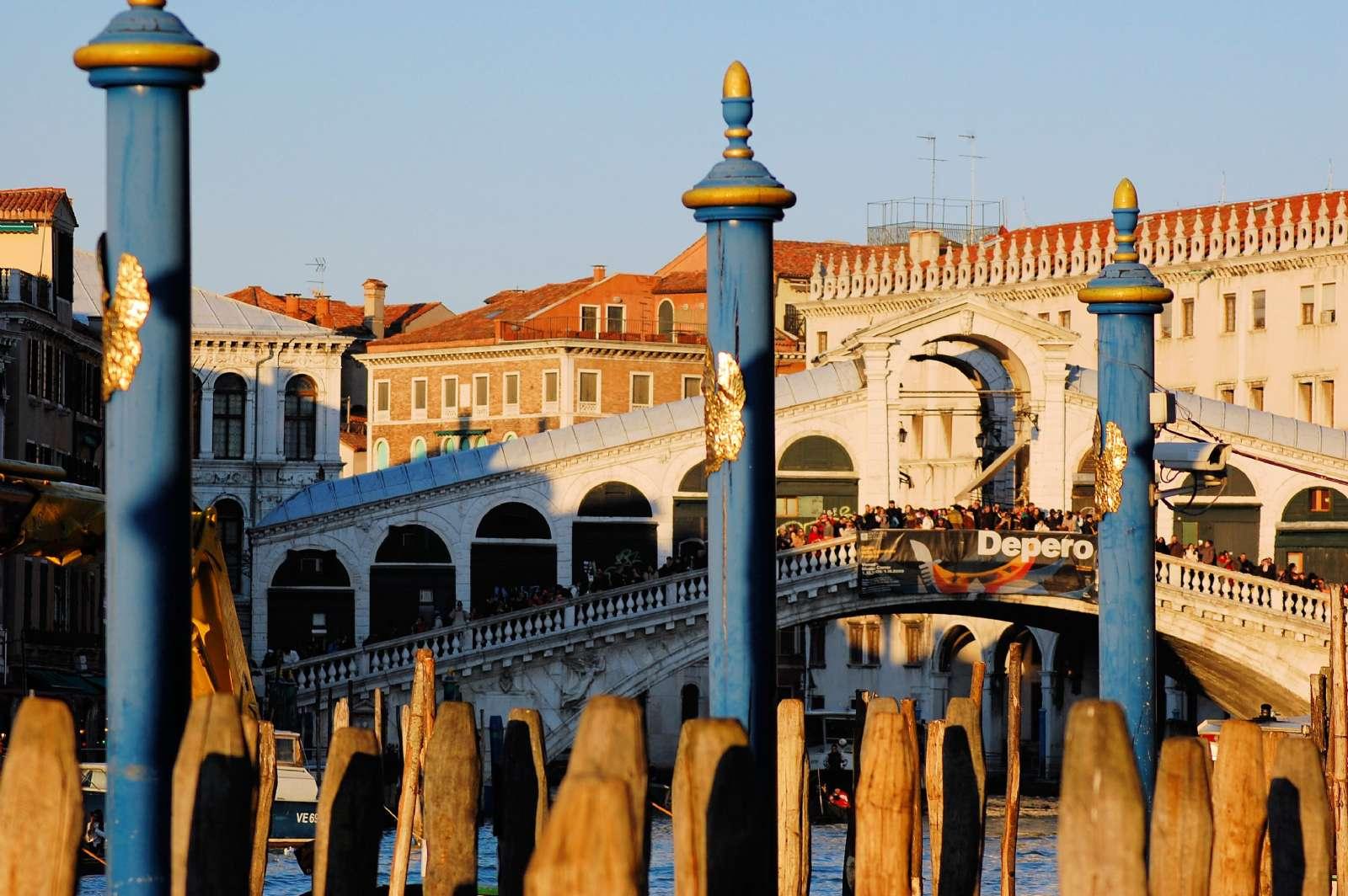 Rialtobron i Venedig