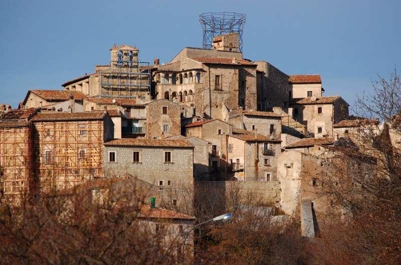 Der Wiederaufbau nach dem Erdbeben im Jahr 2009
