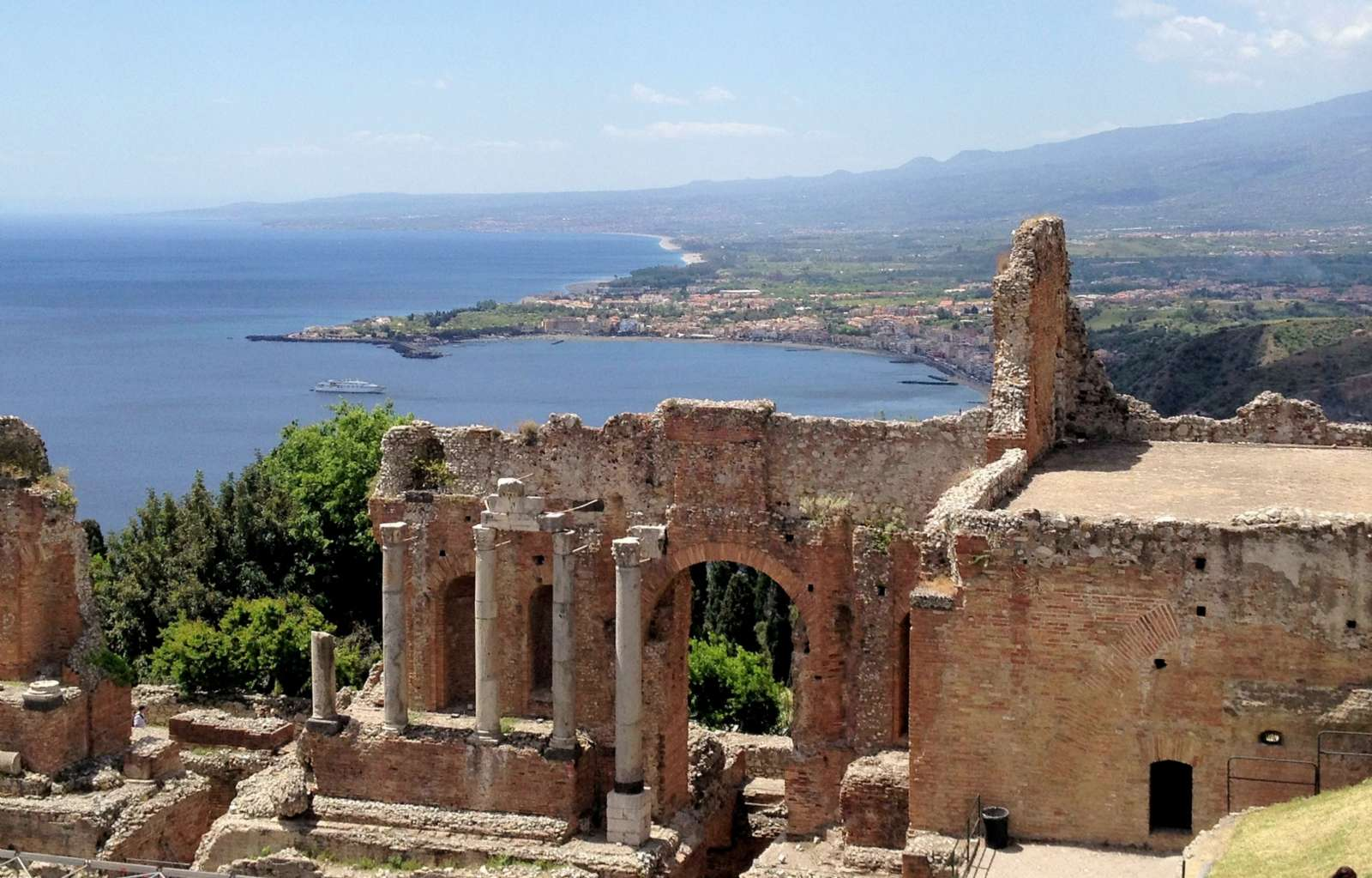 Ruiner från den grekiska teater