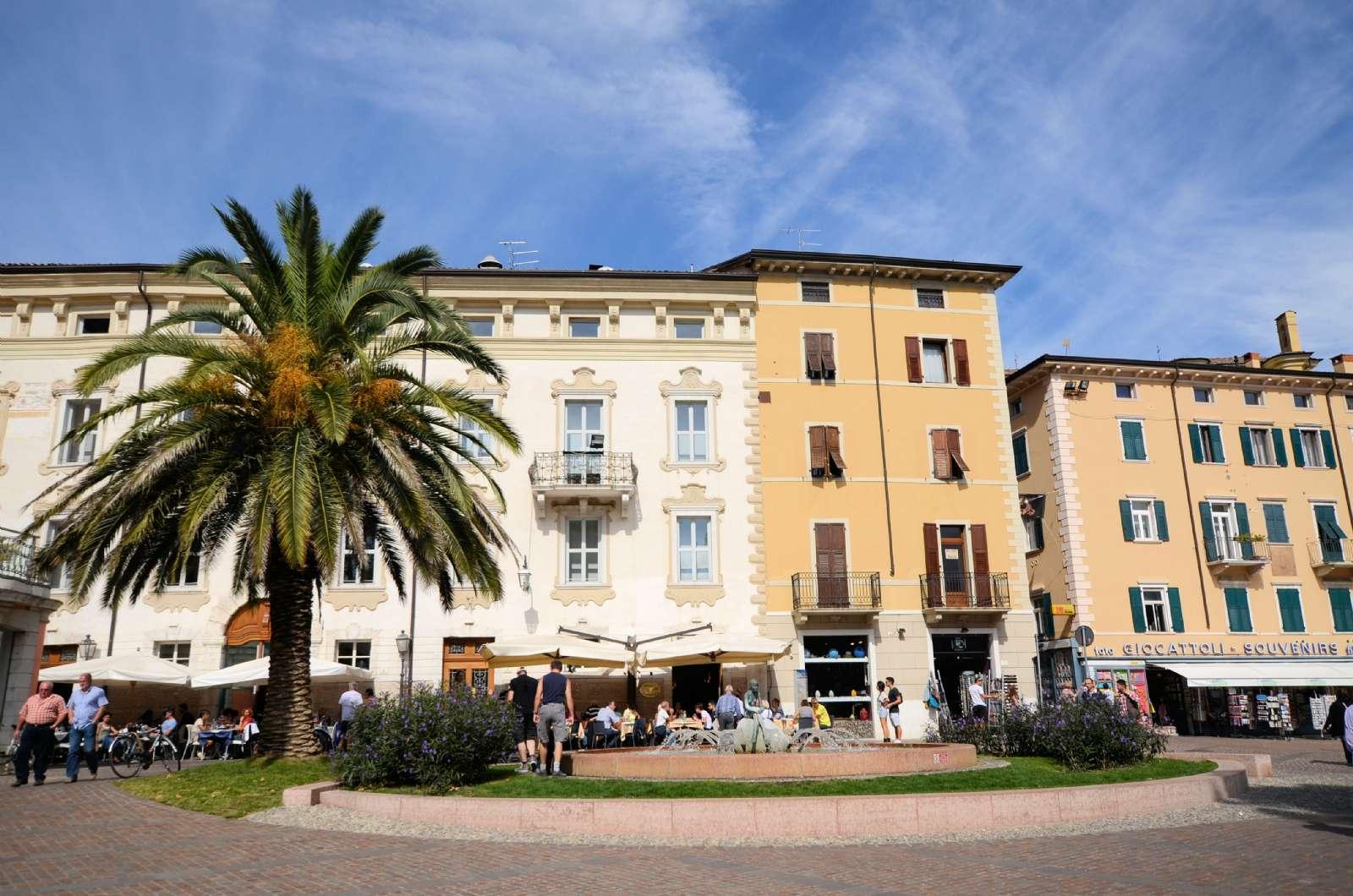 Centrum i Riva del Garda