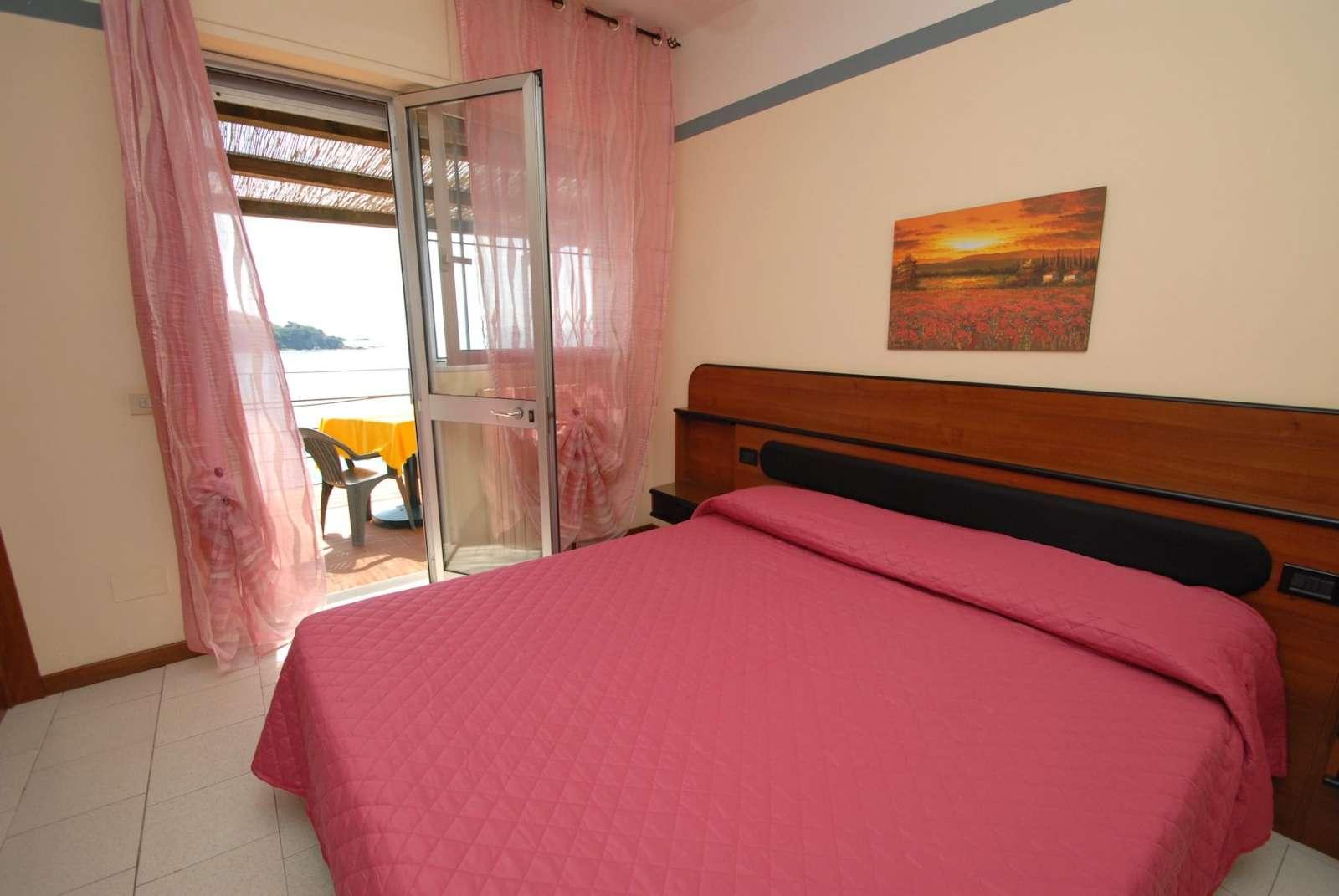 Doppelbettzimmer auf Meereshöhe