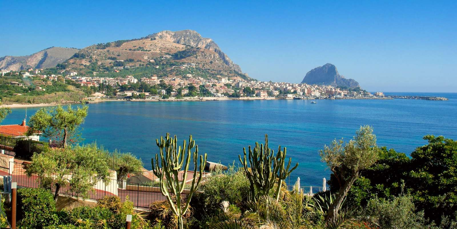 Den sicilianska naturen är storslagen