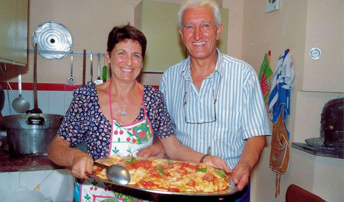 Värdparet på Masseria Santa Lucia djupt inne i Molises frodiga hjärta