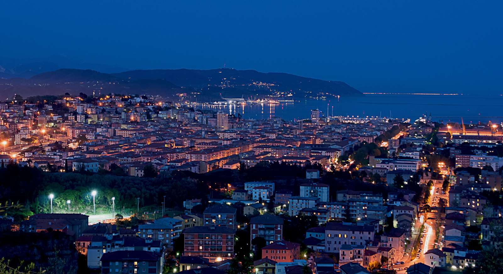 La Spezia by night