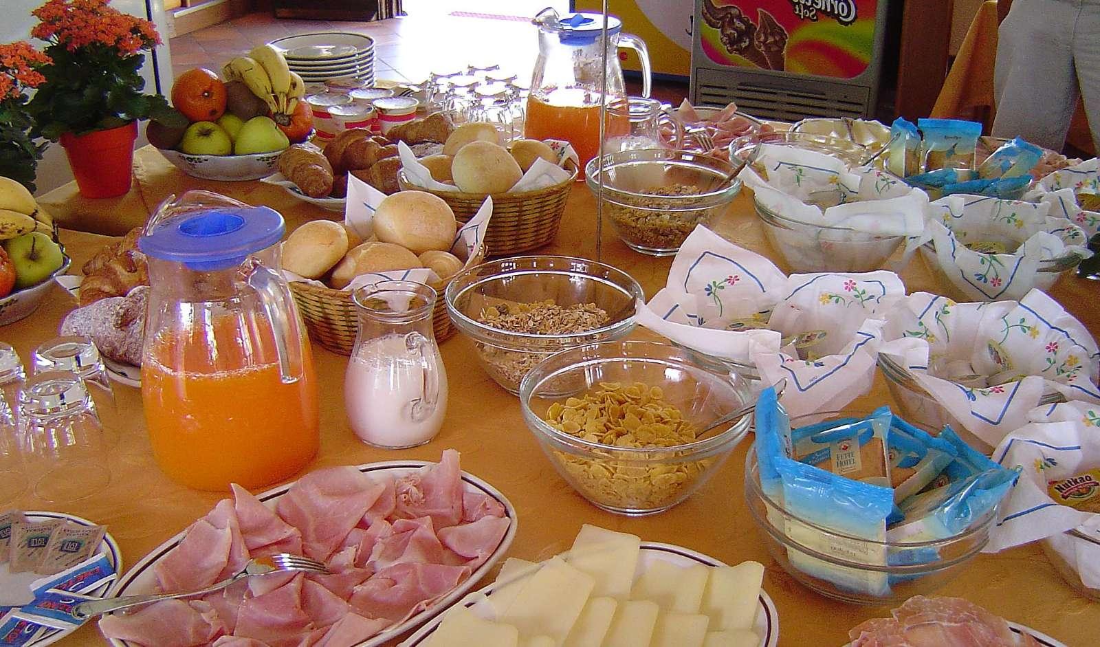 Le petit-déjeuner à la Résidence