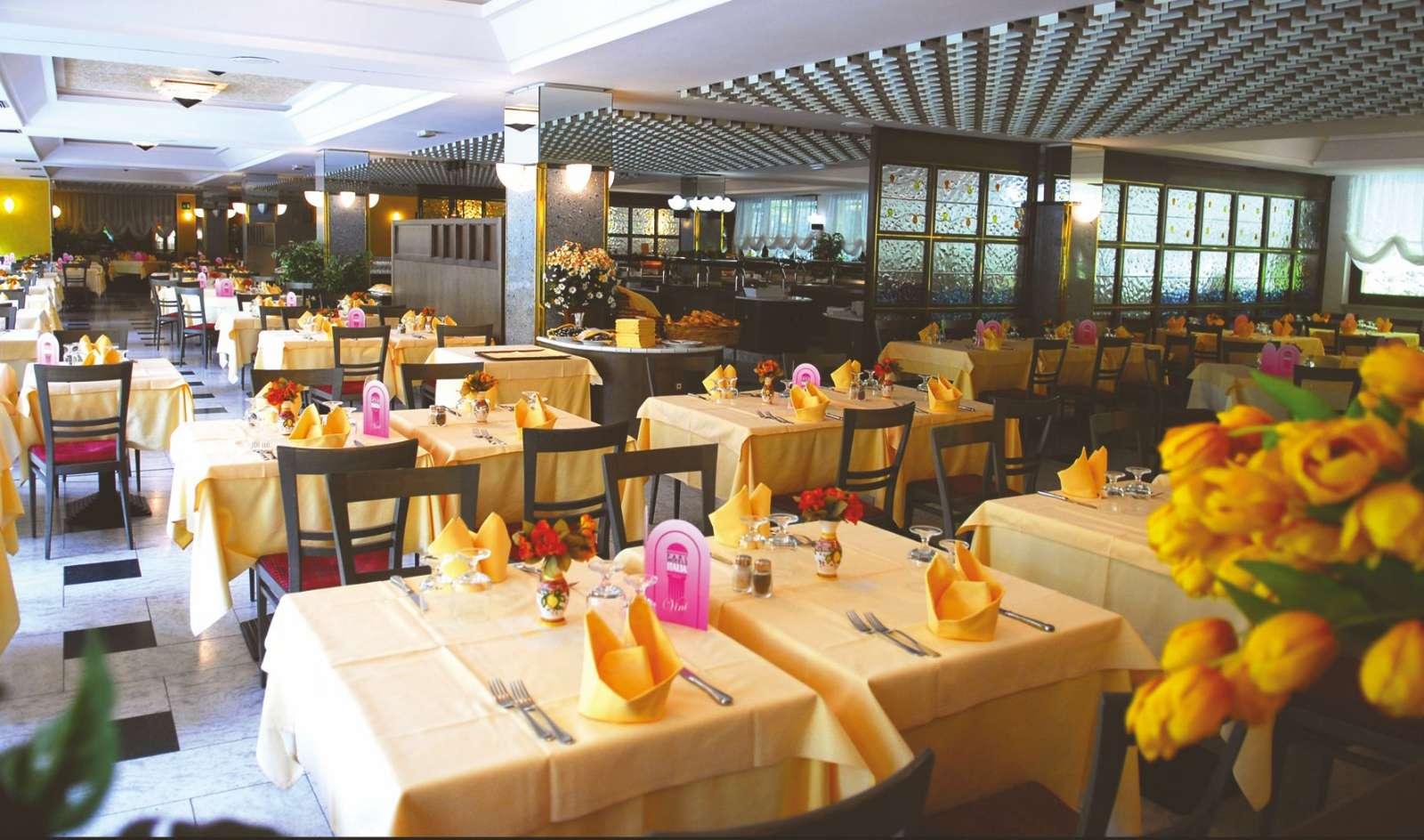 Restaurant på Parc Hotel Gritti