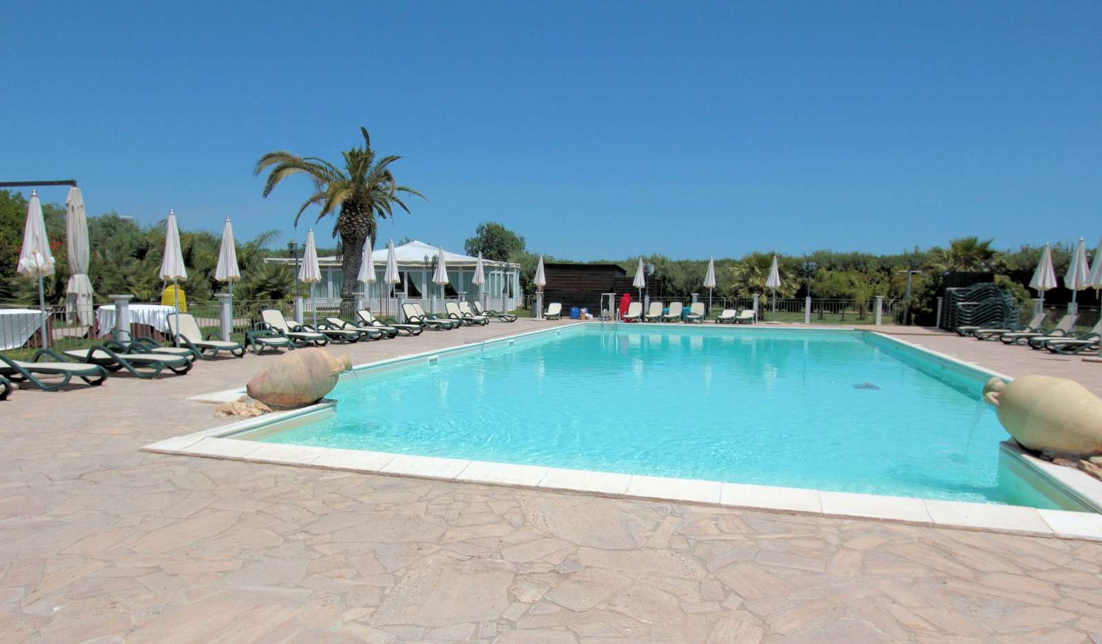 Det store pool på La Badiula