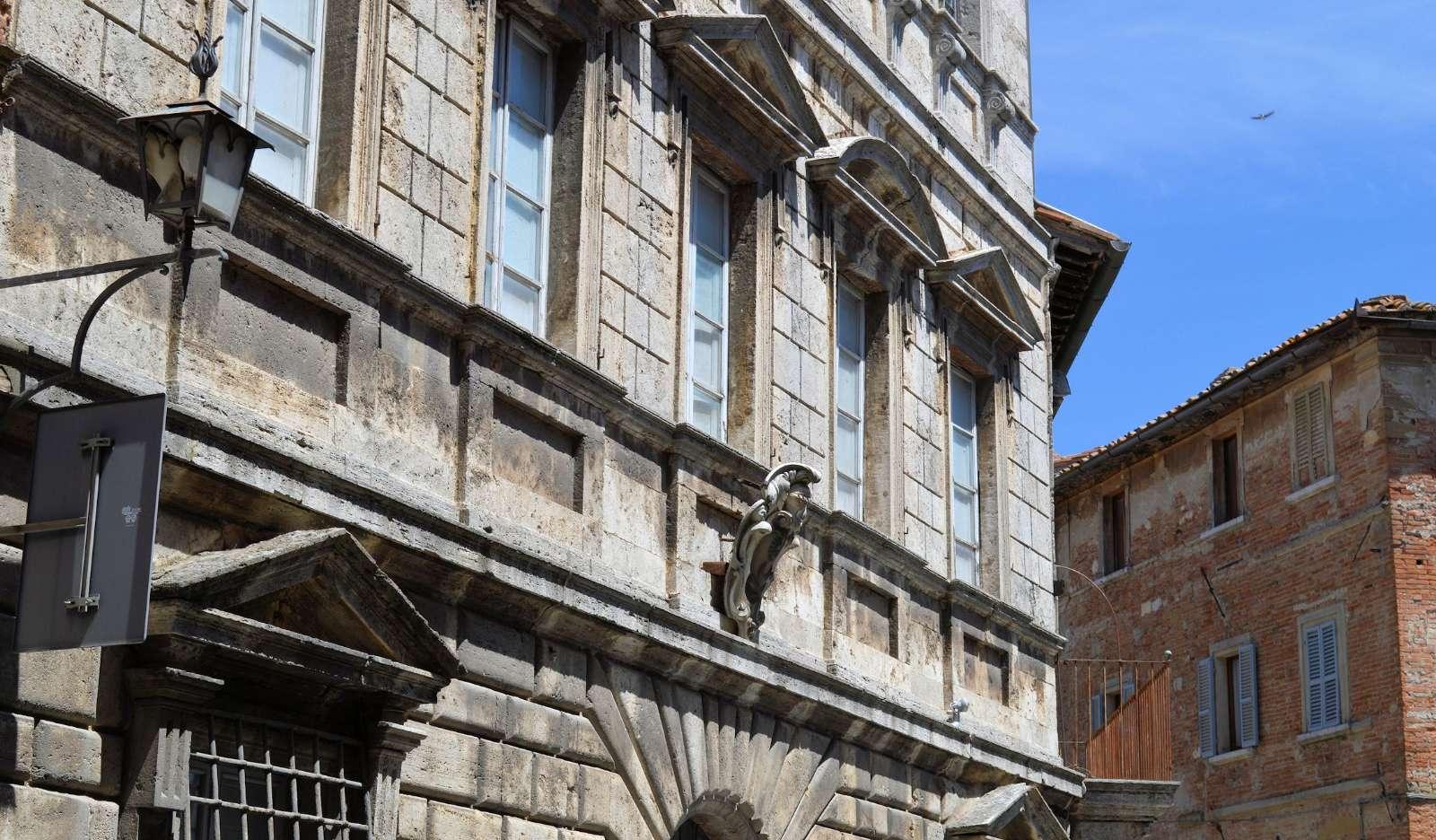 Ränessanspalats i Montepulciano
