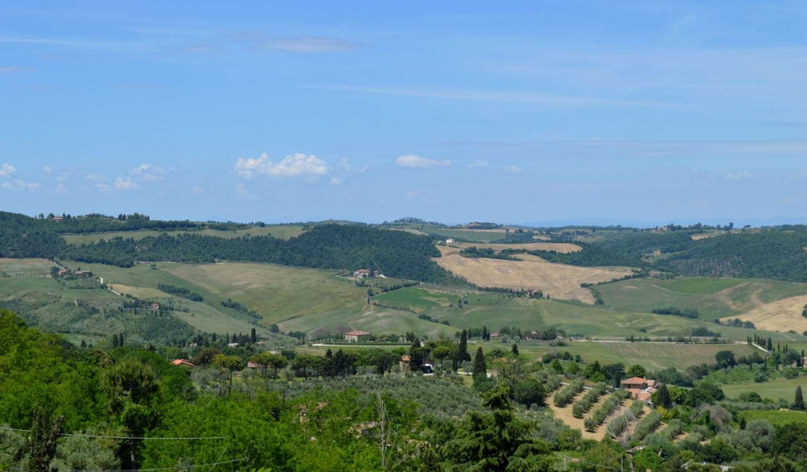 Udsigten fra Montepulciano