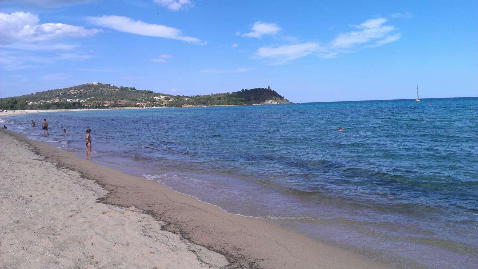 La plage ne se trouve qu'à 15 minutes de marche