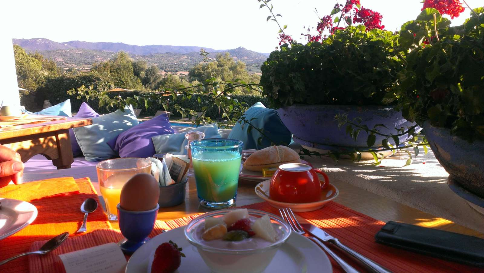 Frühstück mit Blick