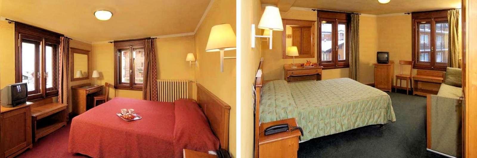 Eksempel på værelserne