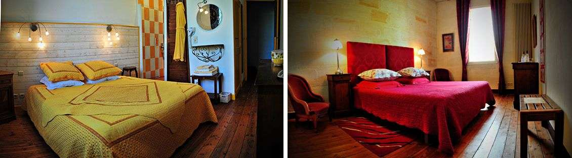 Chambre Jaune og Chambre Rouge