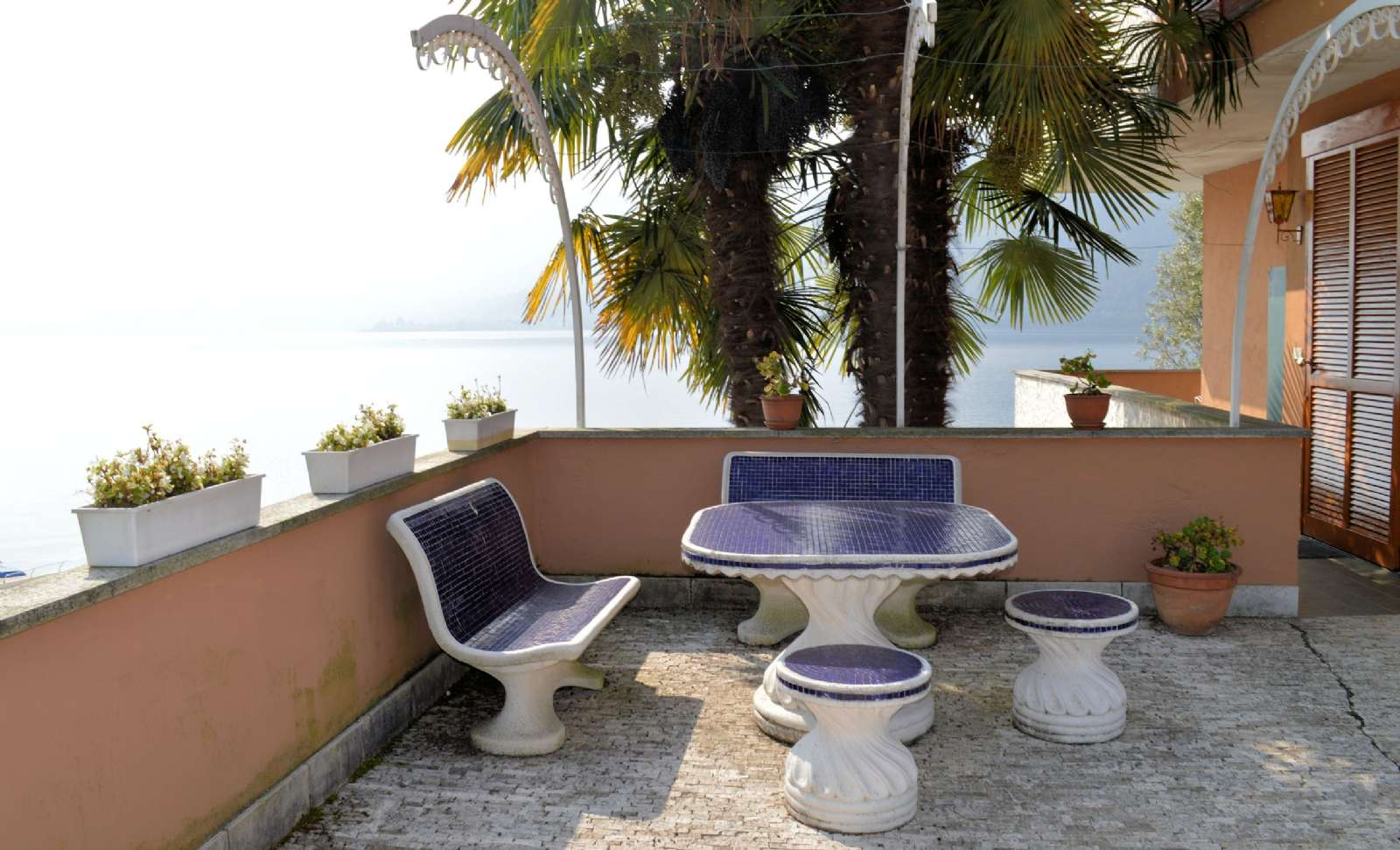 La terrasse de Villa Iris