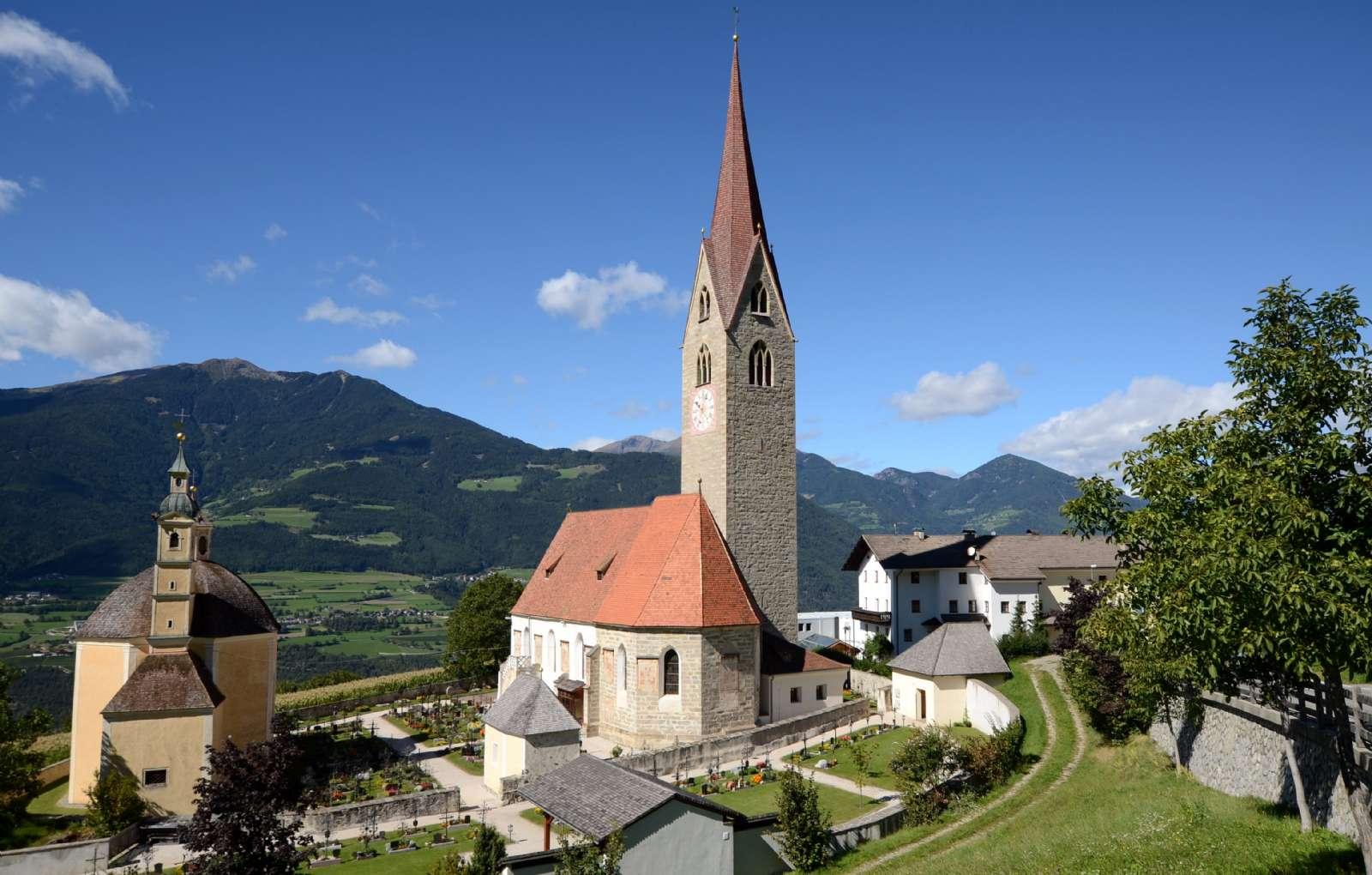 Le village de Sant'Andrea près de Brixen