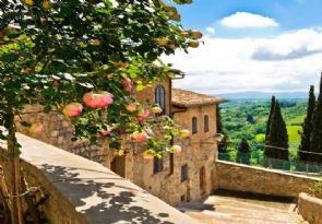 La Toscane!