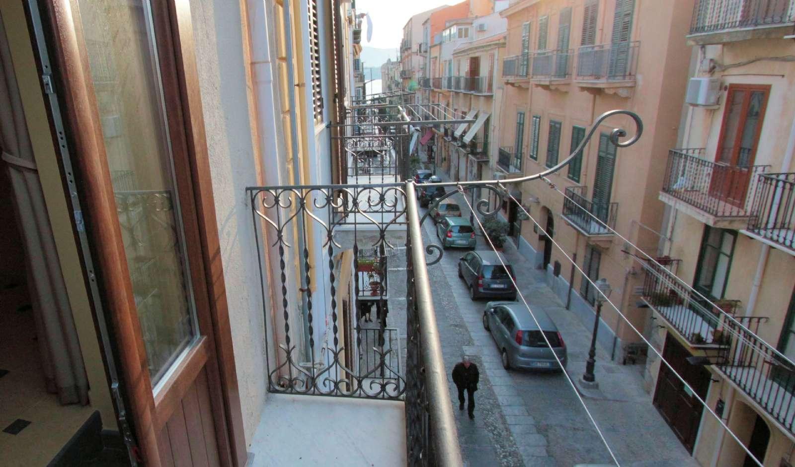 Balkon i lejligheden Filicudi