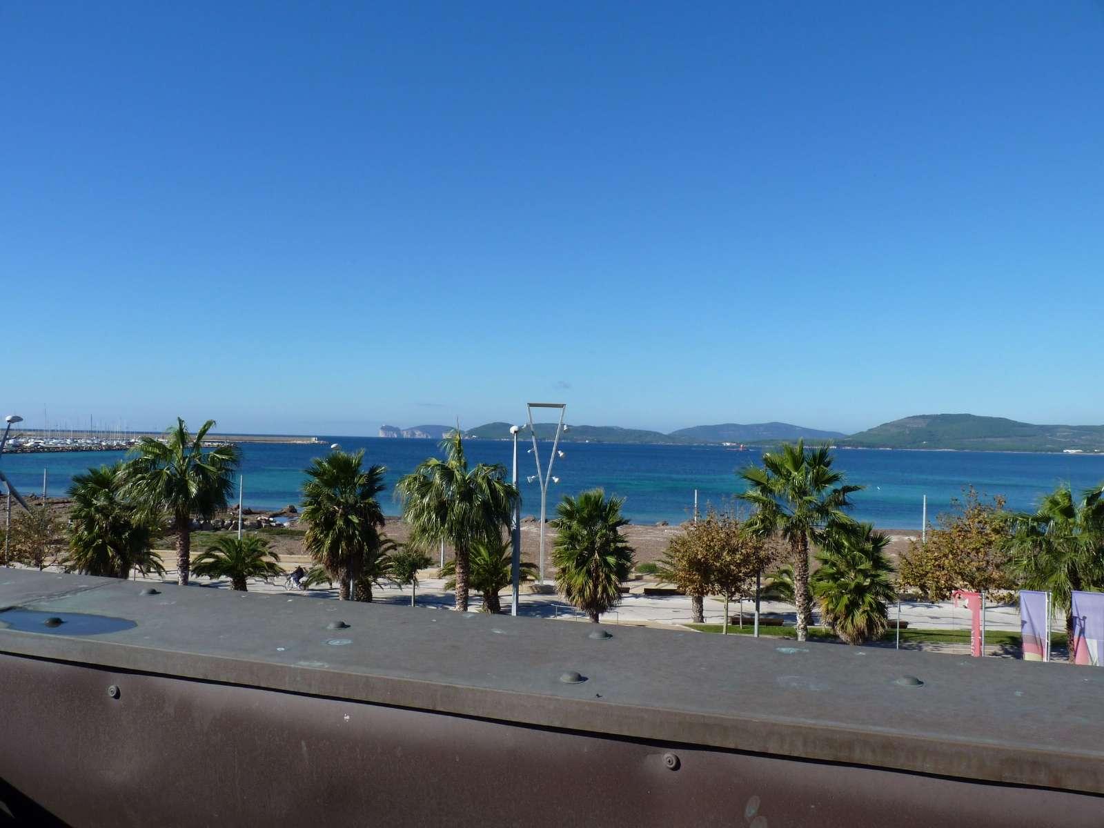 Utsikt från lägenheten Corallo