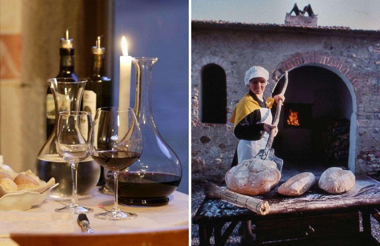 Chianti er kendt for vin og mad