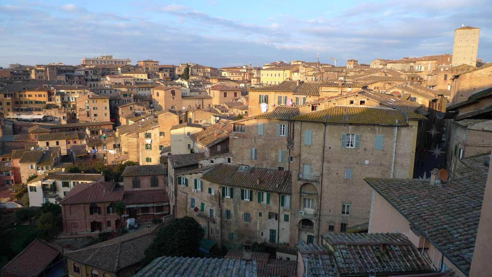 Siena ist auch im Januar schön