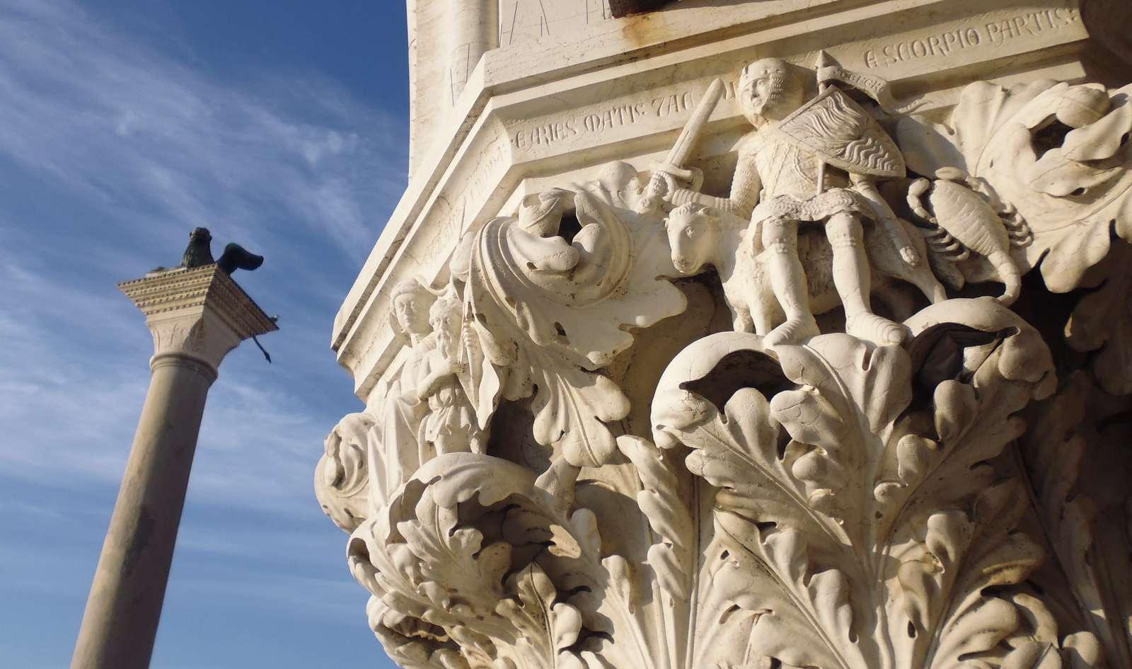 Från Markusplatsen i Venedig