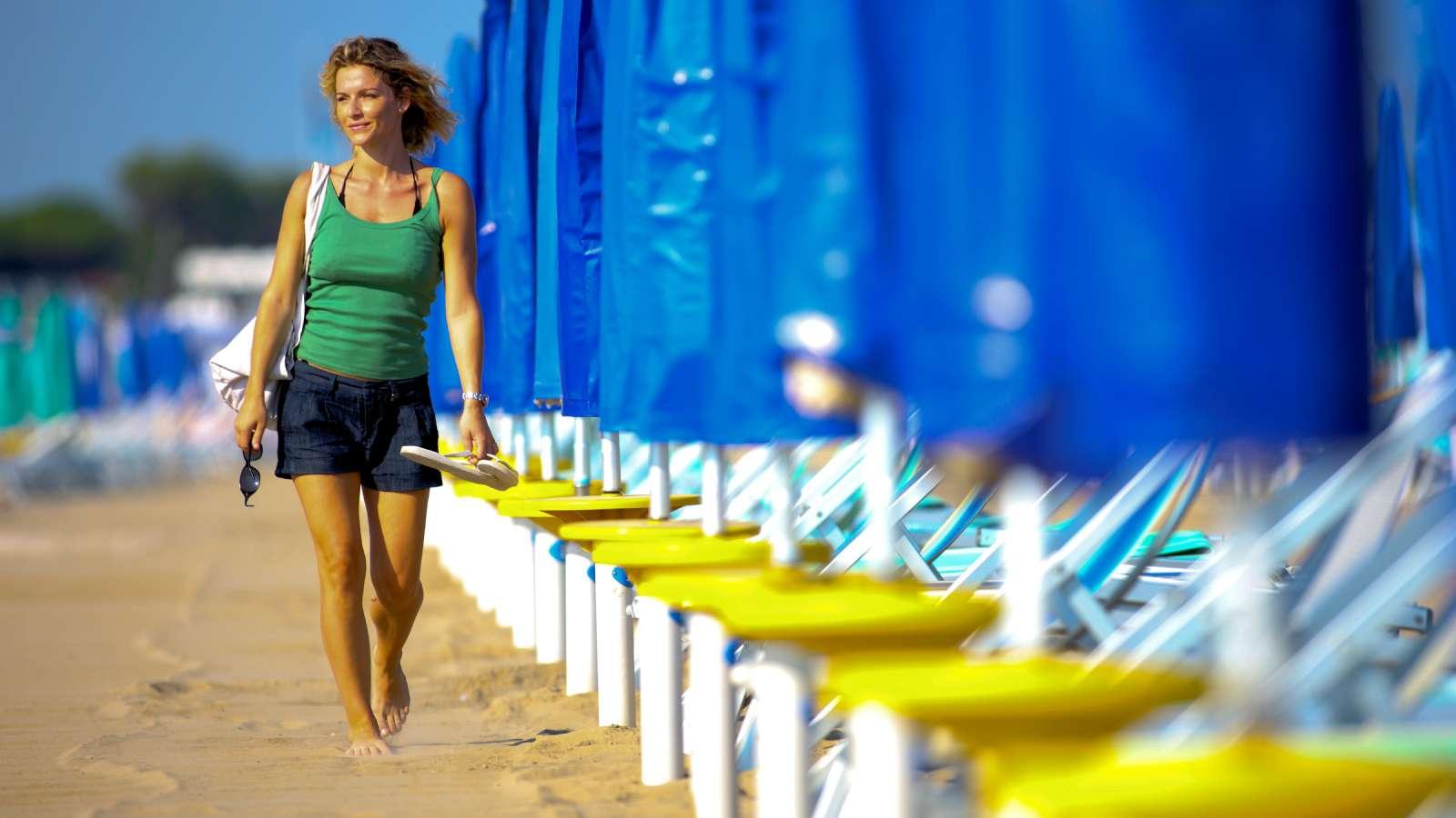 Lignano perfect for beach holidays