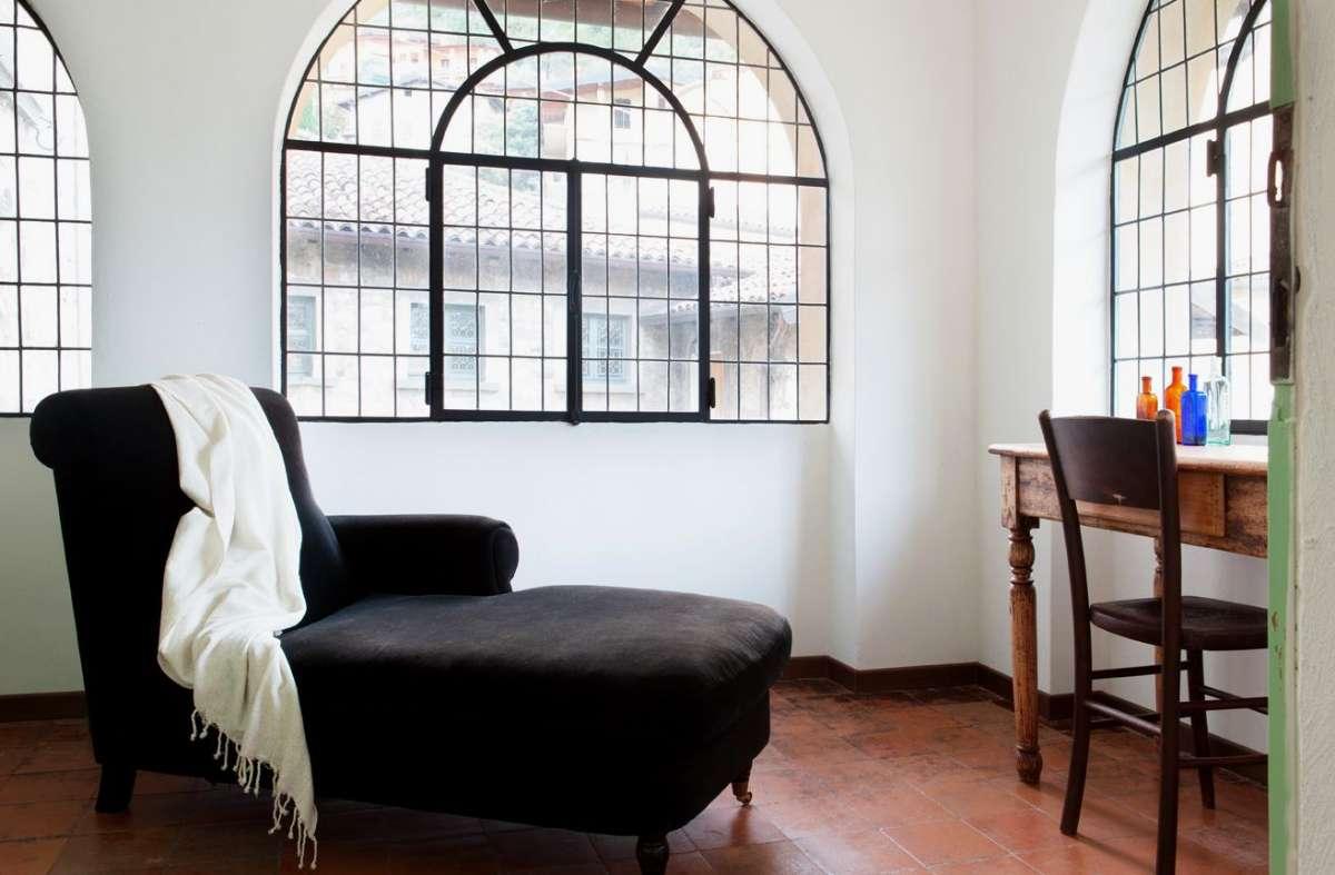 Et af dobbeltværelserne med udsigt