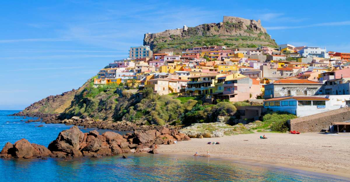 Castelsardo has been voted as one of Italy's most beautiful medieval towns