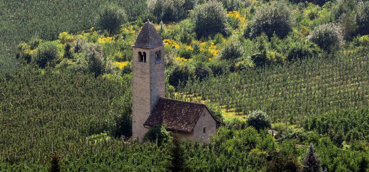 La petite église de San Procolo a Naturno