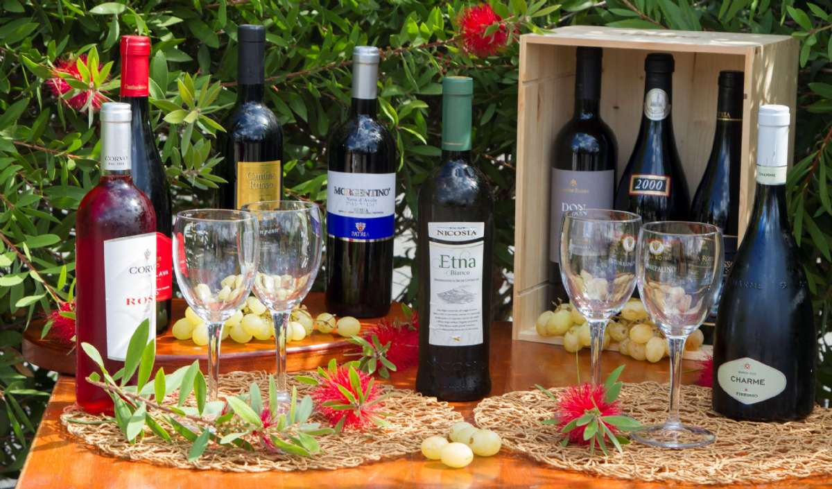 Smaka sicilianska viner på La Terra dei Sogni