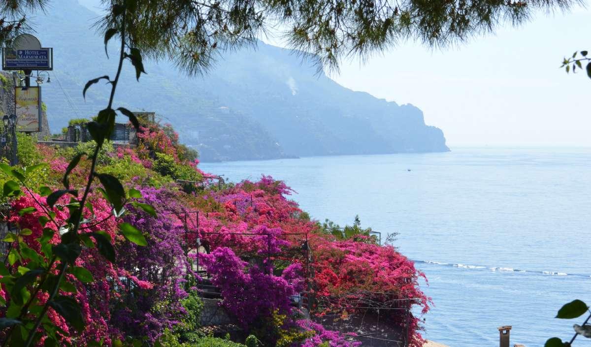 Opleve foråret på Amalfikysten