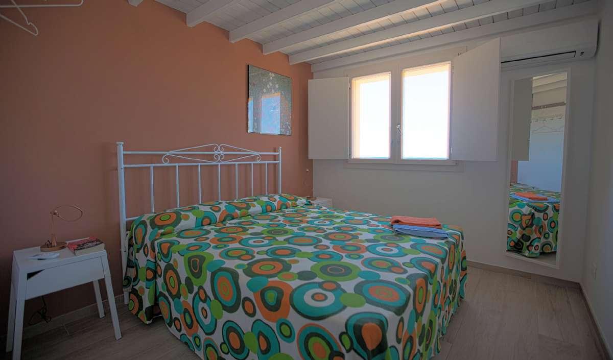 Soveværelse i i ferielejlighed Terrazza dei Poeti