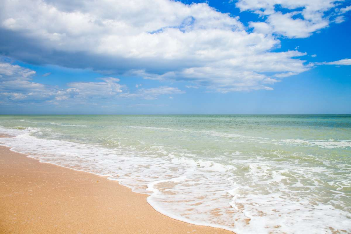 Strand ved Adriaterhavet