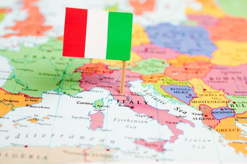 Italienskort