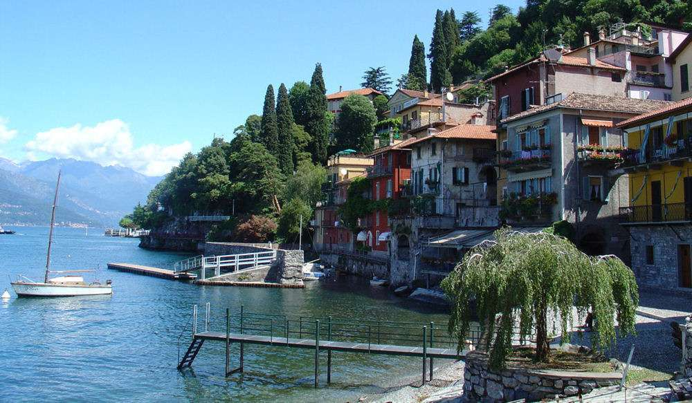 Beautiful Varenna is a must on a self-drive holiday to Lake Como