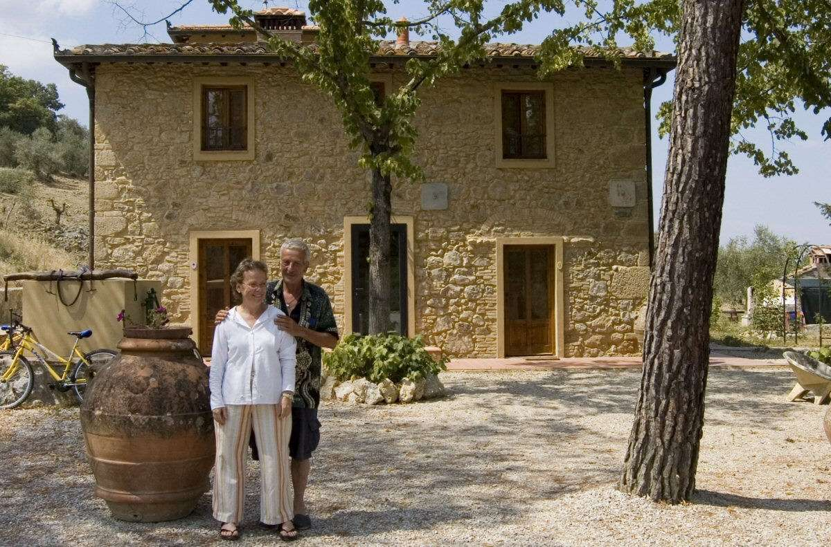 Book a Bed & Breakfast in Tuscany and meet the locals.