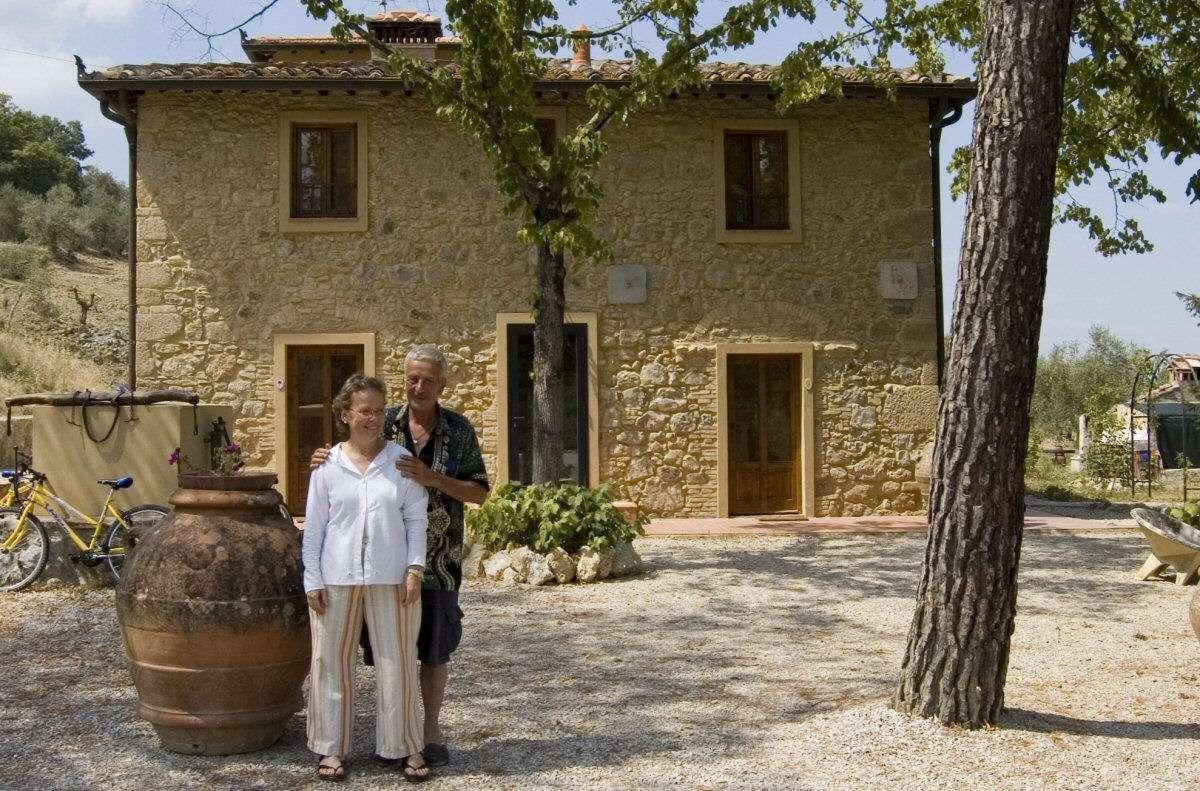 Bo på Bed & Breakfast i Toscana och möt lokalinvånarna.
