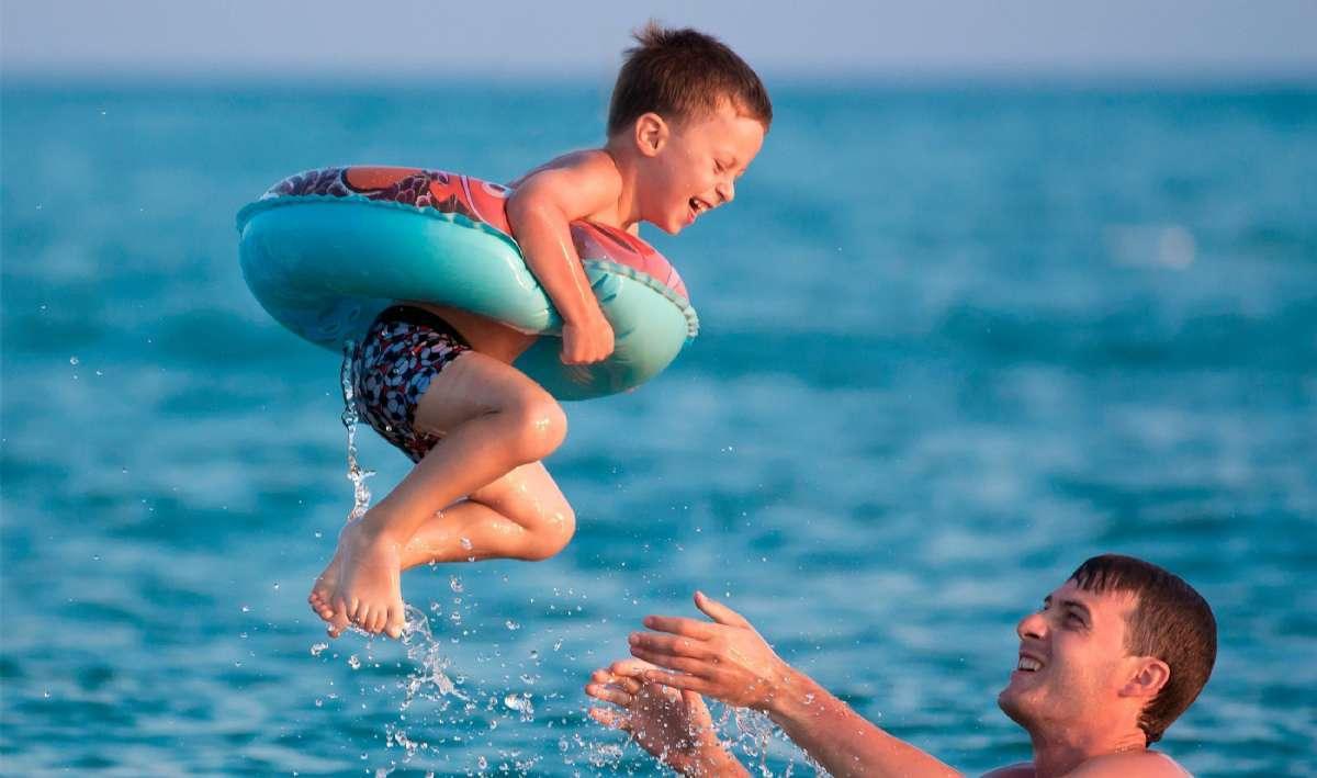Vacances à la plage pour petits et grands à Bibione