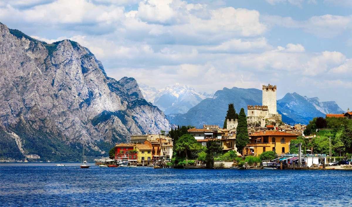 Lombardia er kjent for de mange, flotte innsjøene