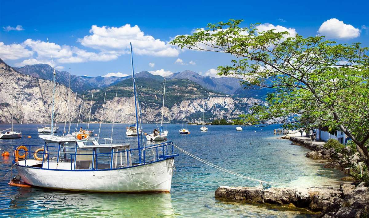 Gardasjøen huser mange hyggelige hjørner